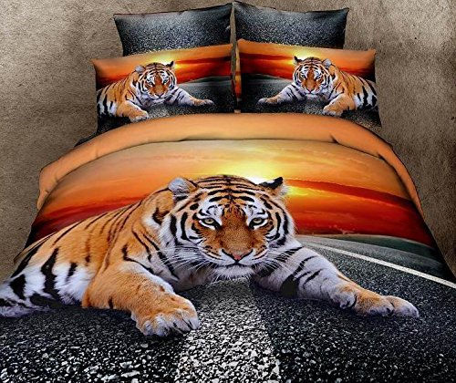 tiger bedding