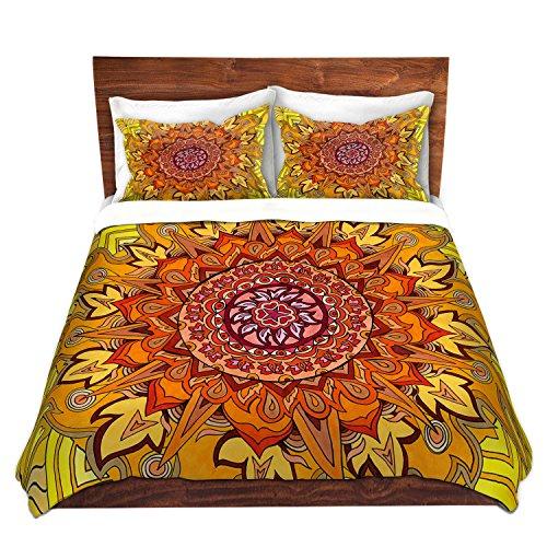 Mandala Print Duvet Cover Set