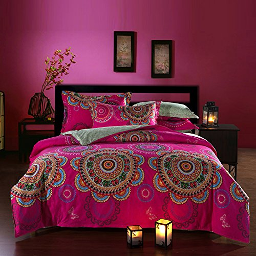 Cool Bohemian Style Full Size Duvet Cover Bedding Sets