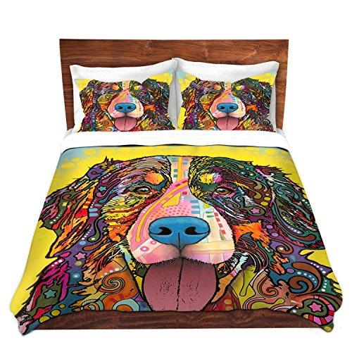 Artistic Mountain Dog Design Bedding Set