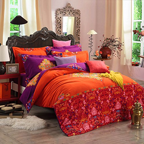 Fun Boho Style Duvet Cover Set