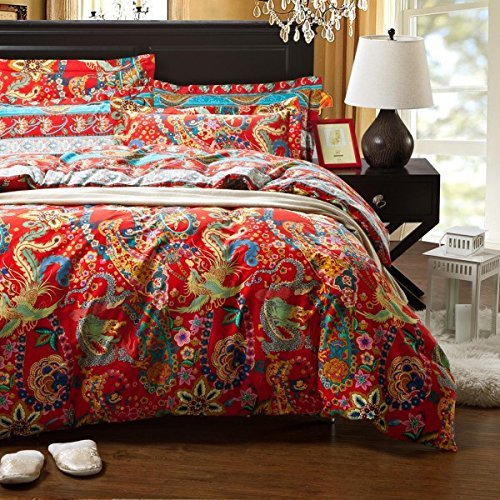 Cute Bohemian Bedding Set