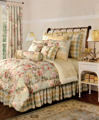 Beautiful Luxury Girly Floral Comforter Set