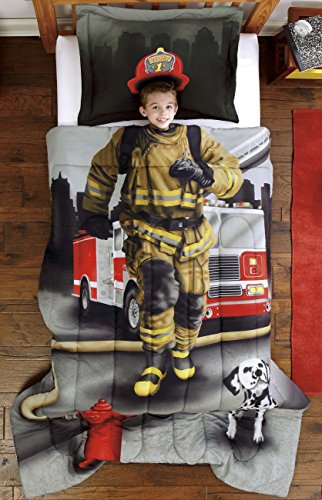 Firefighter Comforter Set for Boys