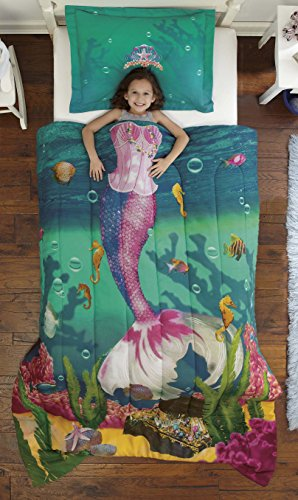 Creative Mermaid Comforter Set for Girls
