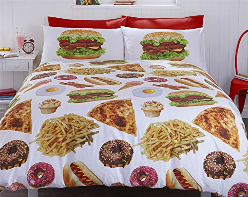 FAST FOOD Duvet Cover Set
