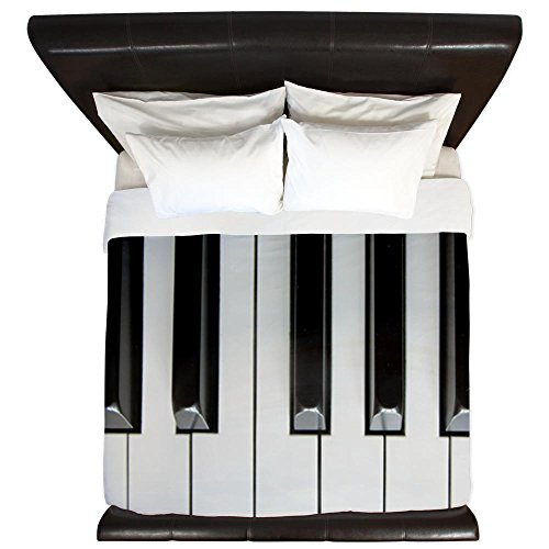 Huge Piano Keys Design King Size Duvet Cover for Sale