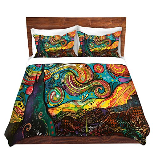 Starry Night Design Unique Duvet Cover Set