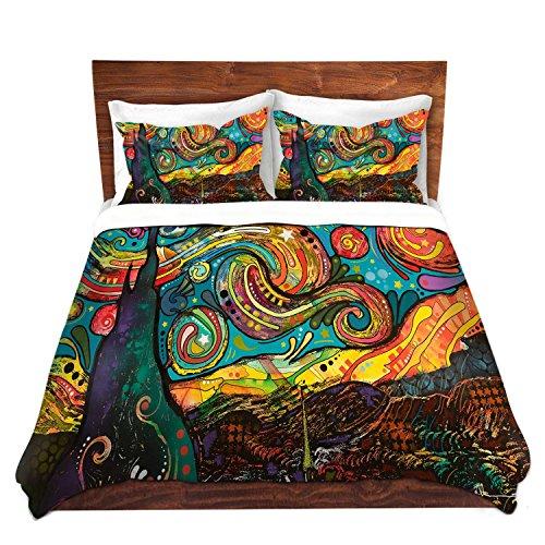 Starry Night Design Unique Duvet Cover Set