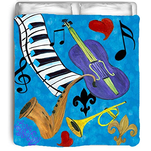 Music Themed Bedding