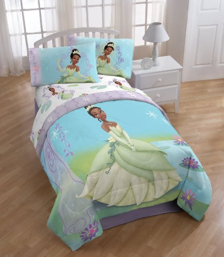 Cute Disney Princess And The Frog Twin Comforter