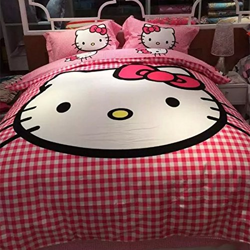 Pink Hello Kitty Bedding