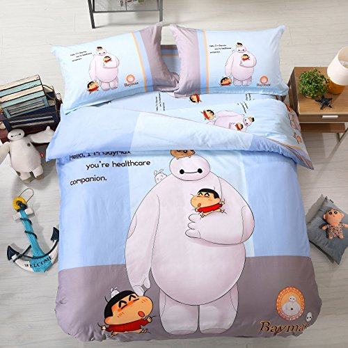 Cartoon Anime Crayon Shinchan Bedding Set