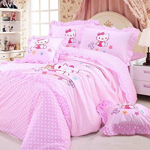 Pink Hello Kitty Bedding Set