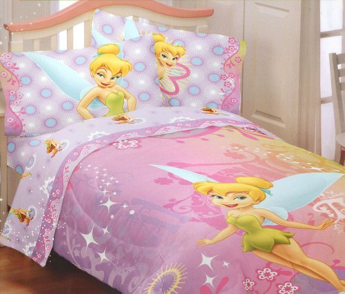 Disney Fairies Tinkerbell Whimsy Twin Bedding Comforter