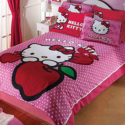 Hello Kitty Cute Duvet Set