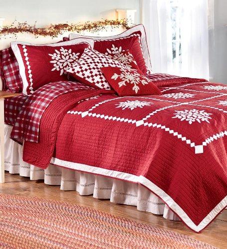 Beautiful Christmas Quilt Set