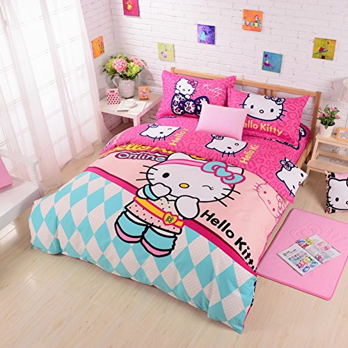 Fun HELLO KITTY Duvet Cover Set
