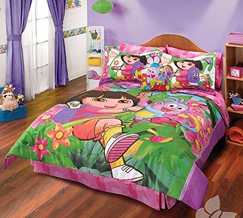 Dora the Explorer 4 Piece Twin Comforter Set