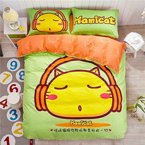 Cute Hamicat Bedding Set