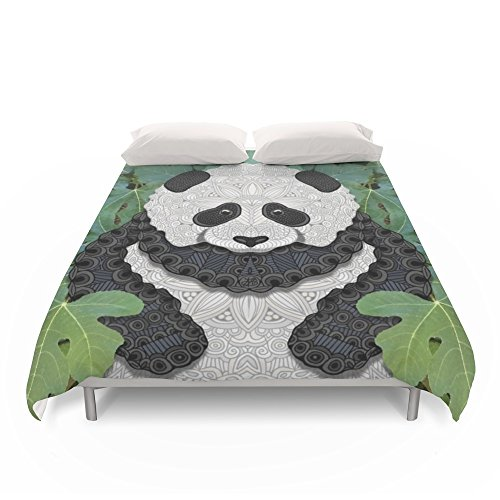 Unique Panda Design Duvet Cover