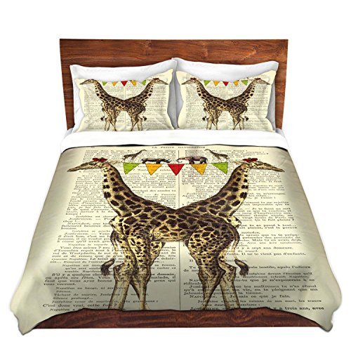 Fun Giraffes Duvet Cover Set
