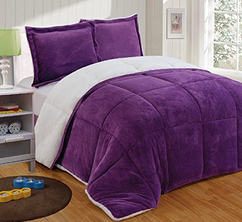 Cute And Awesome Purple Comforter Sets For Your Bedroom