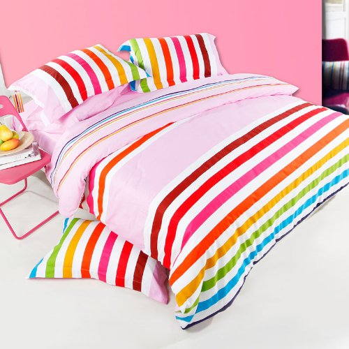 Colorful Rainbow Bedding Set