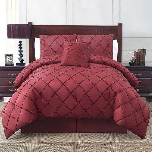 Beautiful Victoria Classics Burgundy Comforter Set