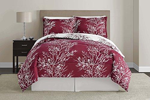 Victoria Classics Pretty Leaf Design Comforter Set