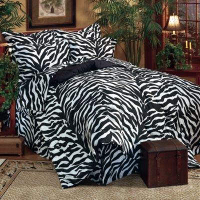 the most fun zebra comforters and bedding sets