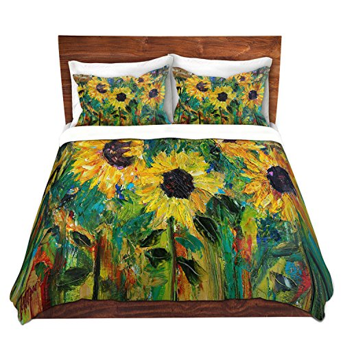 Painted Sunflowers Bedding Sets