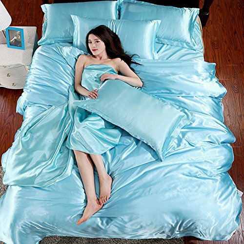 Soft Silky Satin Duvet Cover