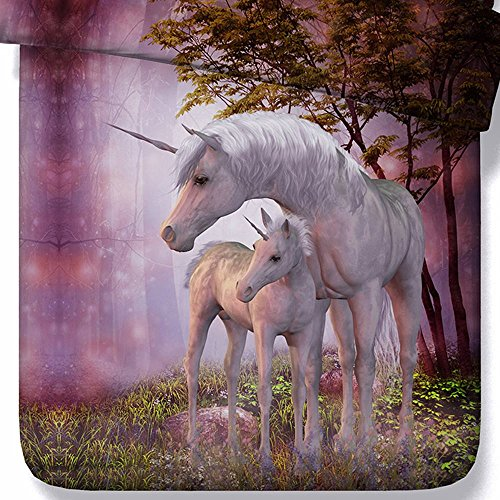 beautiful unicorns bedding sets