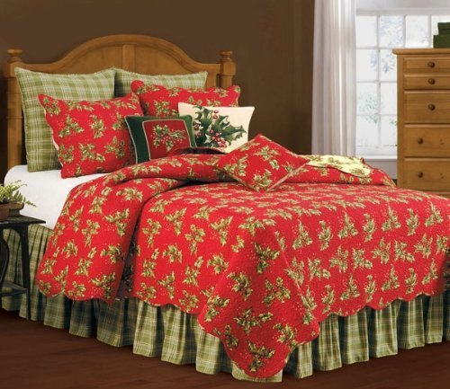 Gorgeous Christmas Quilt Set