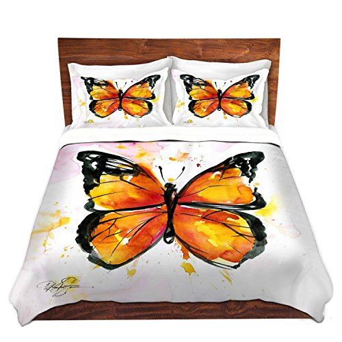Monarch Butterfly Duvet Cover Set