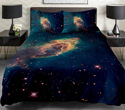3d Printing Galaxy Duvet Cover Set
