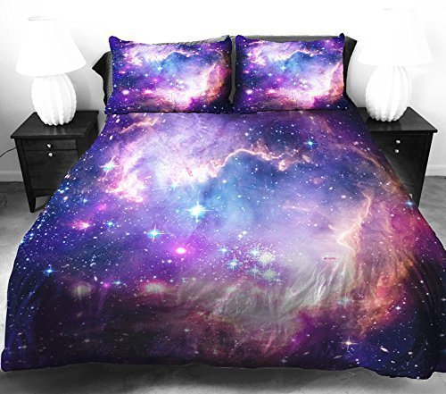 Colorful Galaxy Bedding Set