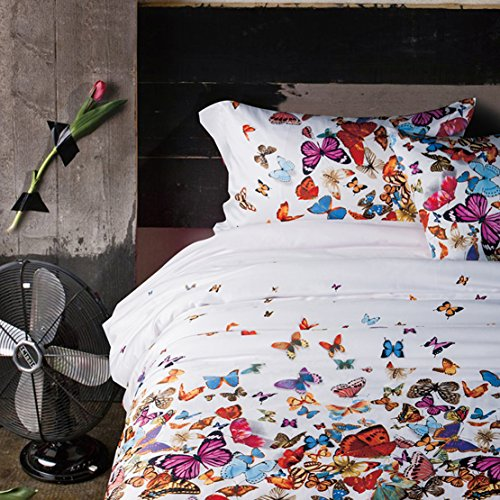 Colorful Butterflies Bedding Set