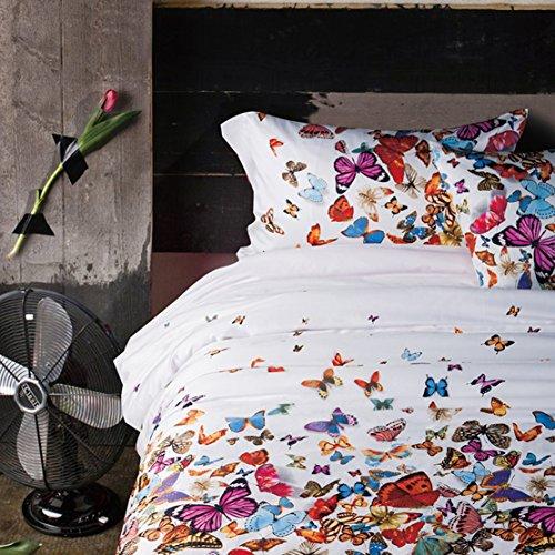 Colorful Butterflies Bedding Set