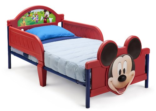 Mickey Mouse 3D Toddler Bed