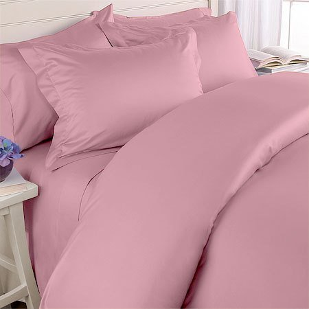 Egyptian Cotton Pink Bedding Set