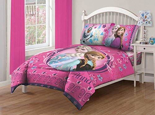 Cute Disney Frozen Twin Comforter Set