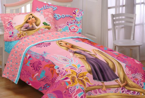 Disney Tangled Let My Hair Down Twin Comforter