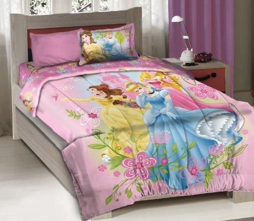 Disney Princess Royal Gardens Licensed Full Bedding