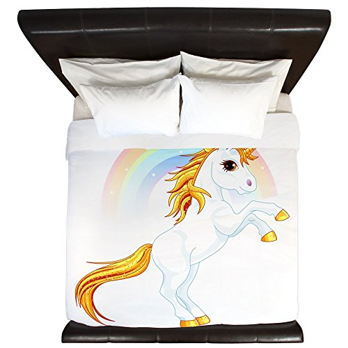 Rainbow Sparkle Unicorn Duvet Cover