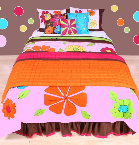 Happy Flowers Comforter Set