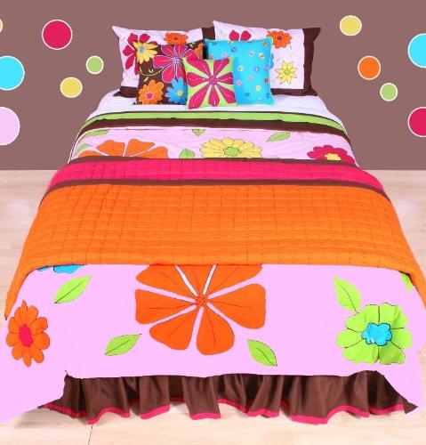 Happy Flowers Comforter Set