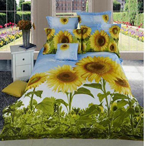 Cute Sunflower Bedding Set