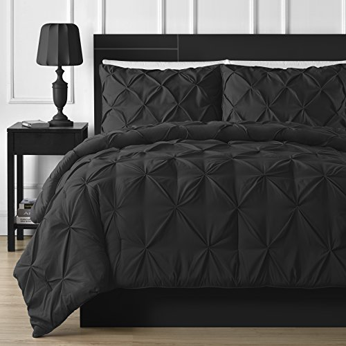All Black Comforter Set